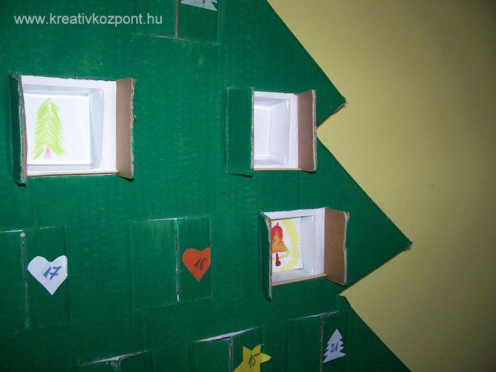 b93b395d41 Karácsonyi pályázat - Adventi naptár