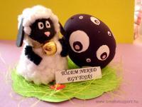 Húsvéti pályázat - Cserép bárány - Kész
