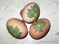 Húsvéti pályázat - Tojásdíszítés harisnyával - Készülőben