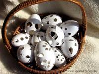 Húsvéti pályázat - Csipkézett tojások