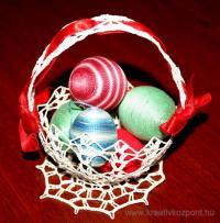 Húsvéti pályázat - Horgolt kosár húsvétra