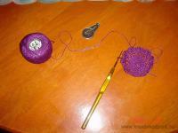 Húsvéti pályázat - Horgolt tojás, tojástaró - Hozzávalók