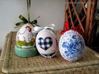 Húsvéti pályázat - Textillel bevont hungarocell tojás