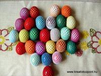 Húsvéti pályázat - Horgolt tojások