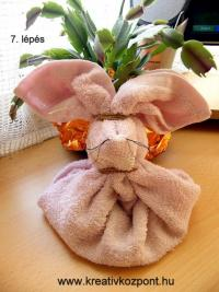 Húsvéti pályázat - Töltött nyuszi - Kész