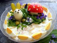 Húsvéti pályázat - Ehető nyuszi tojásból