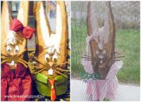 Húsvéti pályázat - Rönk nyuszi