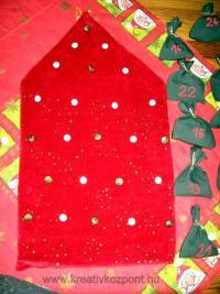 Karácsonyi pályázat - Adventi naptár - Alap