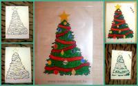 Karácsonyi pályázat - Karácsonyfa ablakdísz - Készülőben
