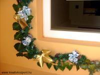Karácsonyi pályázat - Ajtó és ablak dekorációk - Ablak dísz
