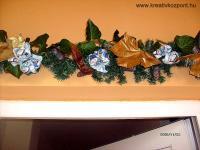 Karácsonyi pályázat - Ajtó és ablak dekorációk - Ajtó dísz