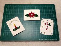Karácsonyi pályázat - Karácsonyi ajándékkísérő kártya - Kész