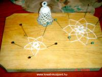 Karácsonyi pályázat - Horgolt csillagok, harangok, angyalkák - Készülőben