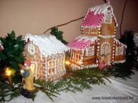 Karácsonyi pályázat - Mézeskalács falu