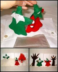 Karácsonyi pályázat - Karácsonyi textilkönyv
