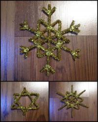 Karácsonyi pályázat - Zsenília hópehely