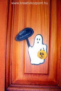 Halloween pályázat - Halloween díszek ajtóra
