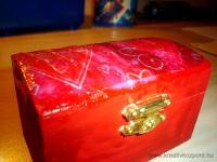 Anyák napi pályázat - Anyák napi szivecskés doboz