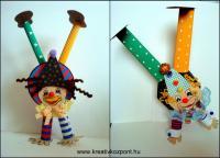 Farsangi pályázat - Kézen álló bohócok - Kész