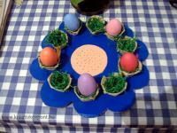 Húsvéti pályázat - Húsvéti asztali tojástartó - Kész