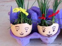 Húsvéti pályázat - Tojás - Fűfej - Kész