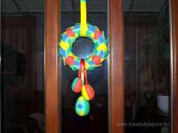 Húsvéti pályázat - Húsvéti ajtódísz - Kész
