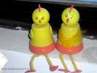 Húsvéti pályázat - Húsvéti cserepes csibék
