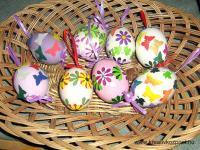 Húsvéti pályázat - Húsvéti díszes tojások