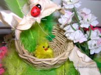 Húsvéti pályázat - Húsvéti kosárka állatokkal