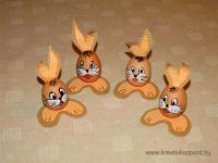 Húsvéti pályázat - Nyuszik kifújt tojásból - Kész