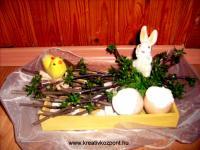 Húsvéti pályázat - Húsvéti asztali disz