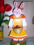 Húsvéti pályázat - Kislánynyuszi kosárkával