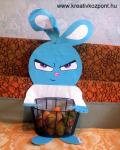 Húsvéti pályázat - Morci nyuszis ajándéktartó