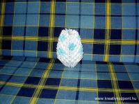 Húsvéti pályázat - Origami tojás - Kész