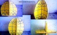 Húsvéti pályázat - Óriás tojás fából