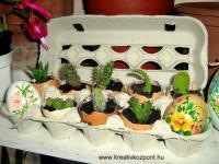 Húsvéti pályázat - Egy tojástaró új élete