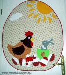 Húsvéti pályázat - Húsvéti falikép és tojások