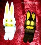 Húsvéti pályázat - Filc nyuszik
