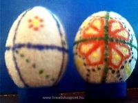 Húsvéti pályázat - Búzadarás tojás