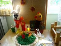 Húsvéti pályázat - Horgolt családok