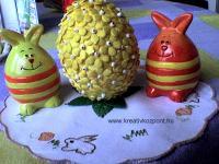 Húsvéti pályázat - Leveles tojások Húsvétra