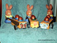 Húsvéti pályázat - Talicskás nyuszik