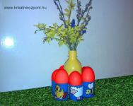 Húsvéti pályázat - Váza és húsvéti tojástaró egyben - Kész