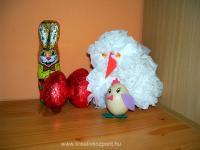 Húsvéti pályázat - Zsepi tyúkanyó és az ő kiscsibéje