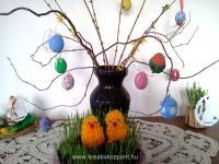 Húsvéti pályázat - Csibe fonalból