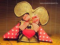 Húsvéti pályázat - Masnis szalvétatartó nyúl
