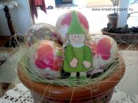 Húsvéti pályázat - Tojástartó cserép