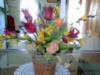 Húsvéti pályázat - Tulipános fácska