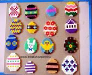 Húsvéti pályázat - Vasalható gyöngy húsvétra