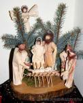 Karácsonyi pályázat - Csuhé Betlehem - Kész